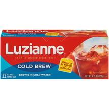 Tea Bags: Luzianne Cold Brew Iced Tea