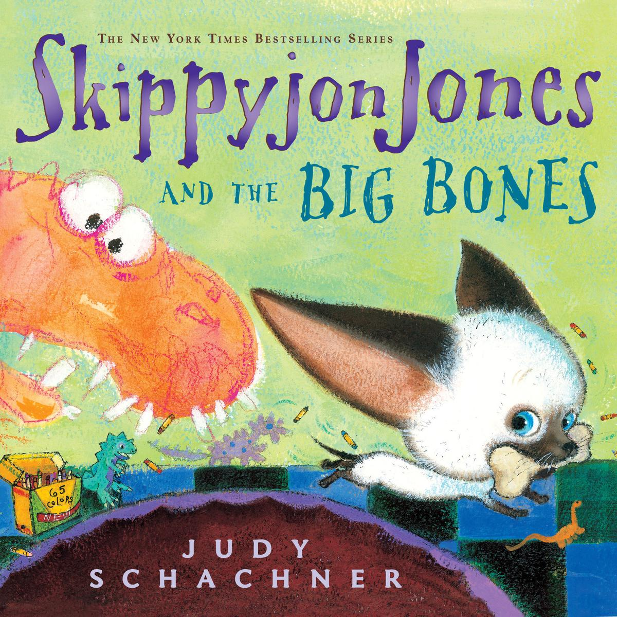 Skippyjon Jones and the Big Bones - Audiobook