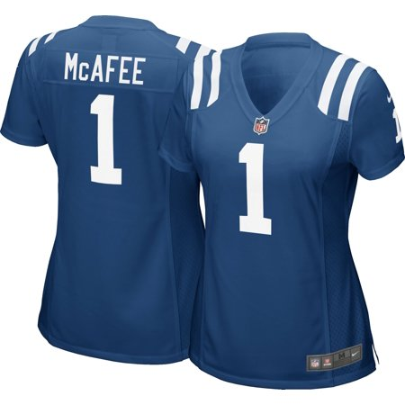 wholesale dealer 8abd0 696a8 Nike Women's Home Game Jersey Indianapolis Colts Pat McAfee #1