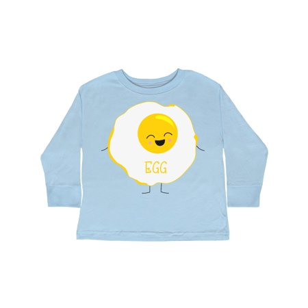 Fried Egg Costume Toddler Long Sleeve T-Shirt - Furies Costume