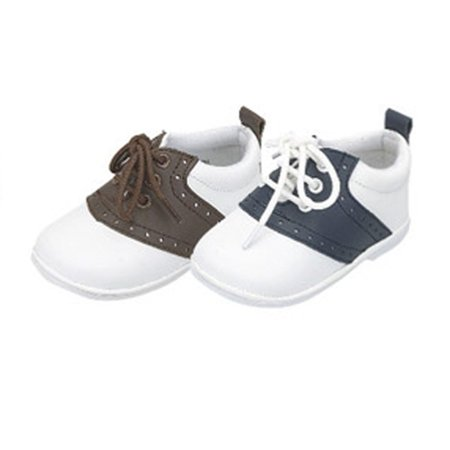 Baby Toddler Boys Lace Up Trendy Saddle Shoes Size 2-7