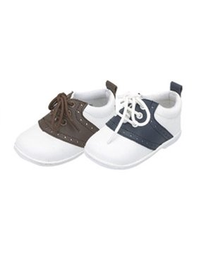 Product Image Baby Toddler Boys Lace Up Trendy Saddle Shoes Size 2-7 6ff0045f8bb