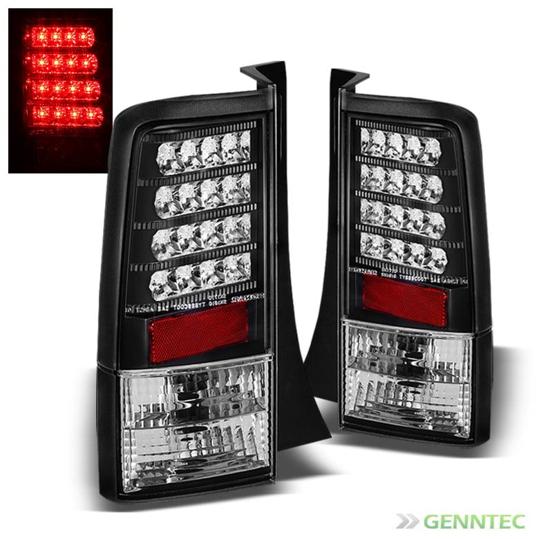 2004-2006 Scion XB LED V2 Black Tail Lights Lamp Rear Brake  Taillights Pair Left+Right 2005