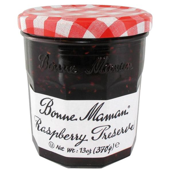 Bonne Maman Raspberry Preserves 13 oz Jars Single Pack by