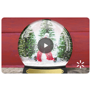 Snow Globe Walmart eGift Card