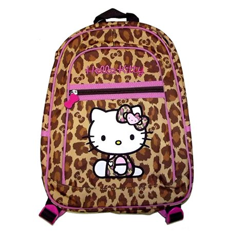 Hello Kitty Leopard Print Mini Backpack