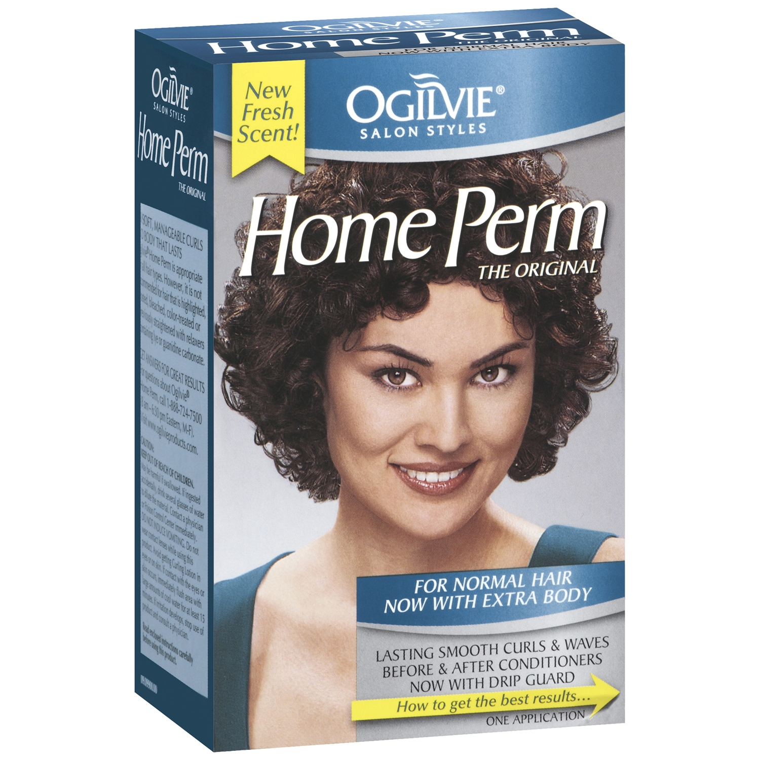 Ogilvie Salon Styles The Original For Normal Hair W/Extra Body Home Perm 1 Ct Box