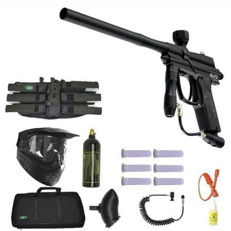 Azodin Blitz Paintball Marker Gun 3Skull Sniper Set