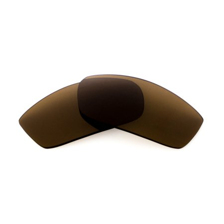 Replacement Lenses Compatible with SPY OPTICS Dirty Mo Polarized Brown (Spy Optics Happy Lens)