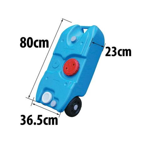 Ktaxon Portable 40l 10gallon Plastic Water Tank On