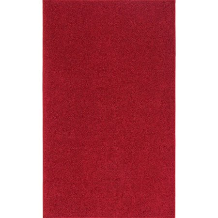 Home Queen Solid Color Red 5'X8' - Area Rug ()