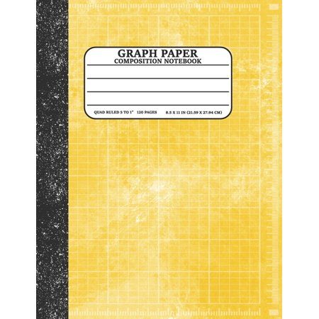 Graph Paper Composition Notebook: Math and Science Lover Graph Paper Cover Watercolor (Quad Ruled 5 squares per inch, 120 pages) Birthday Gifts For Math Lover Teacher, Student Notebook (Paperback)