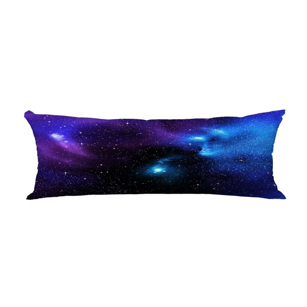 Abphqto Starry Of Deep Outer Space Body Pillow Covers Pillow Case Protector Pillowcase 20x60 Inch Walmart Com Walmart Com