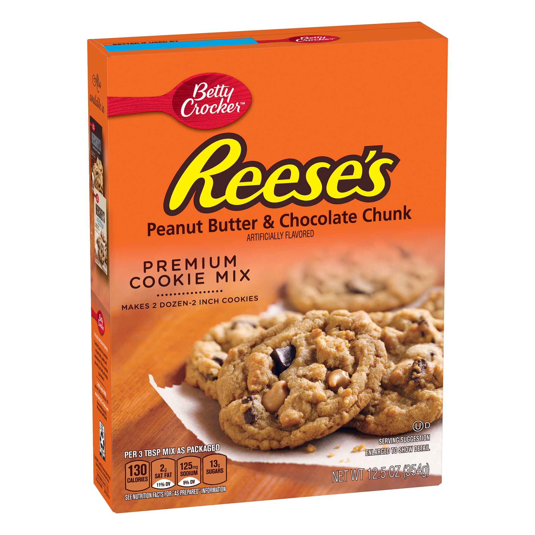 Betty Crocker Reese's Peanut Butter & Choc Chunk Cookie Mix 12.5 oz