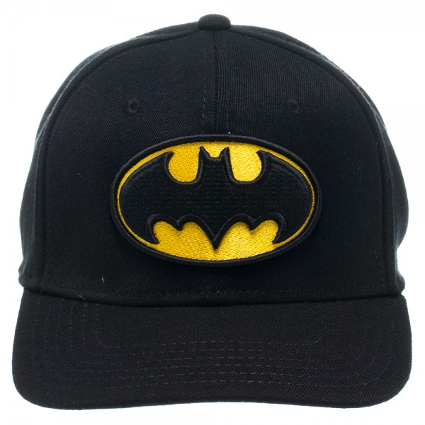 Bioworld Baseball Cap - Batman - Logo Black Flex Cap Hat ...