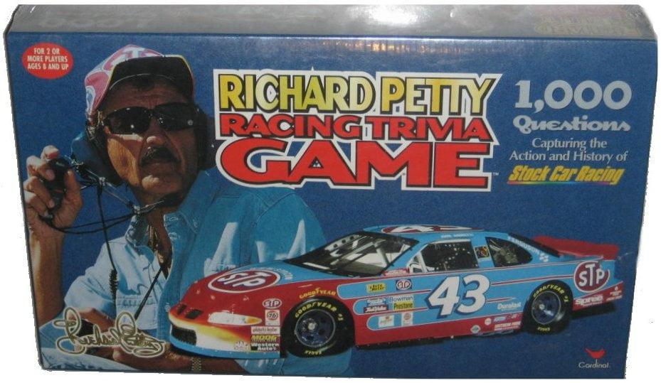 Richard Petty Stock Car Racing Cardinal Trivia Game by Cardinal