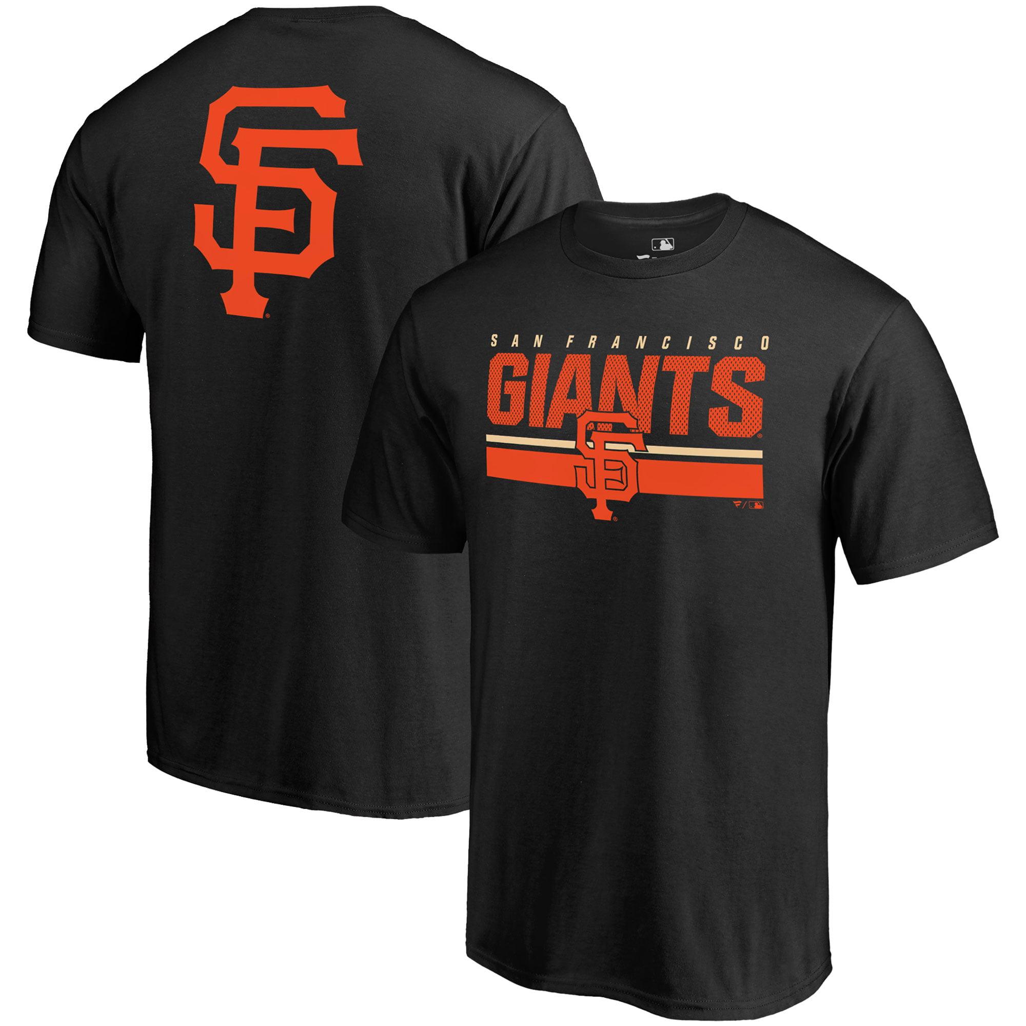San Francisco Giants Fanatics Branded Big & Tall End Game T-Shirt - Black