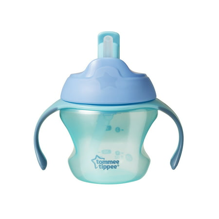 Tommee Tippee First Straw Transition Cup, 6+ months – 5 ounces, 1 Count (Colors May