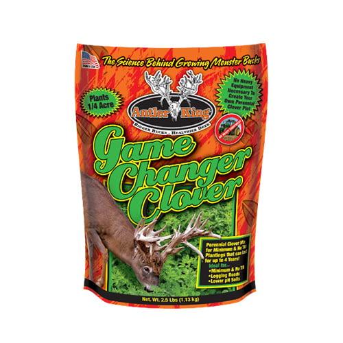 Antler King Food Plot Seed Game Changer Clover thumbnail