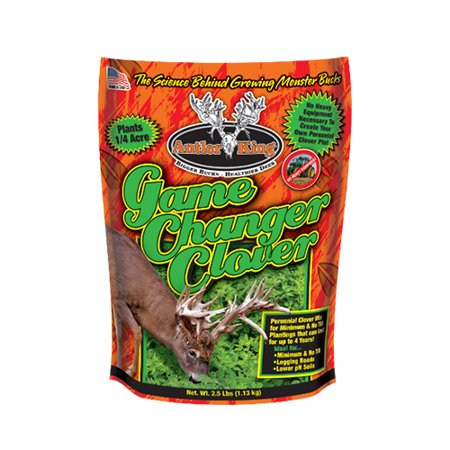 Antler King Food Plot Seed Game Changer Clover