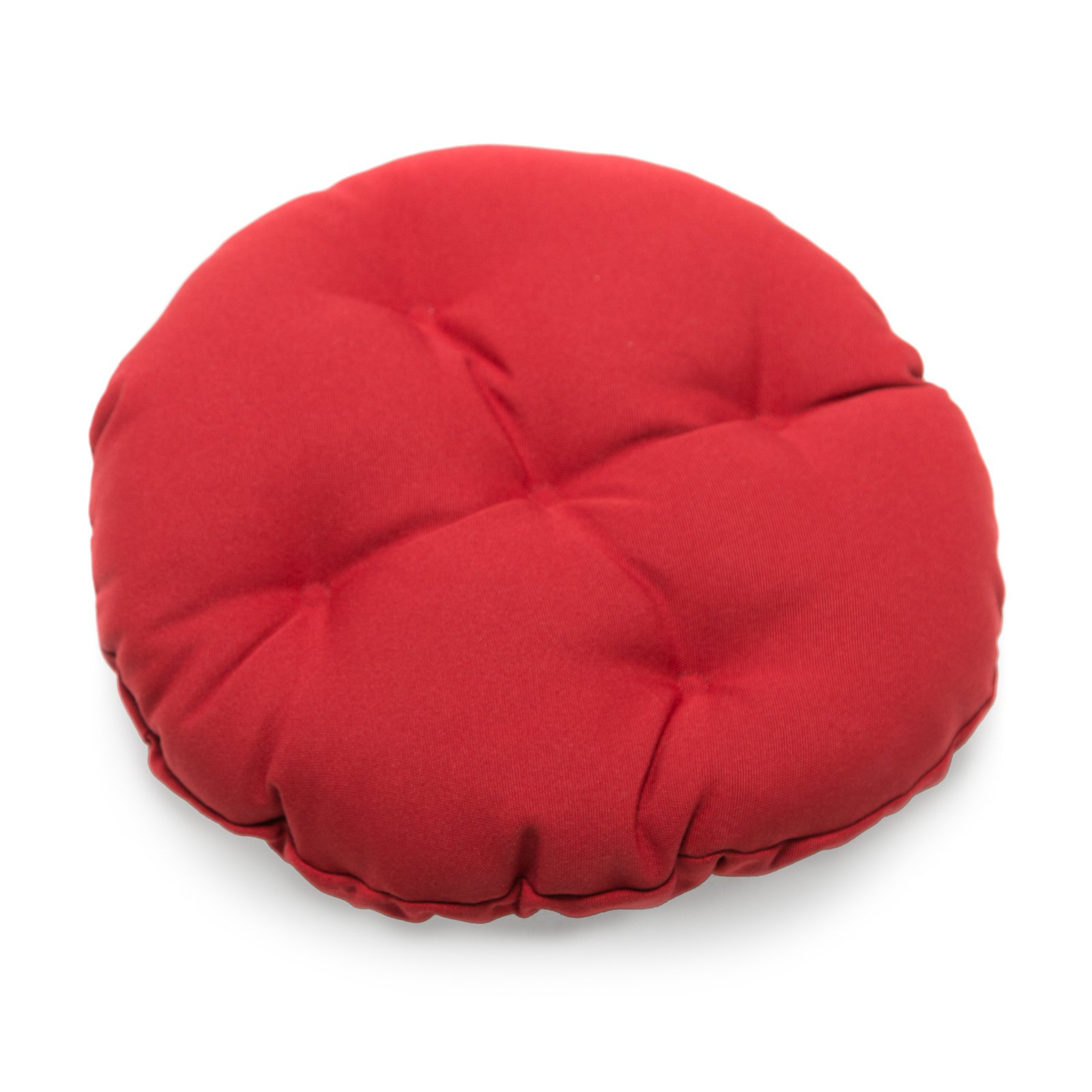 Deauville 13 in. Round Backless Bar Stool Seat Cushion