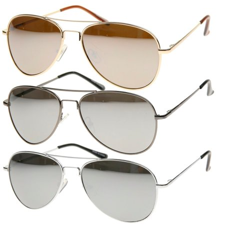 MLC Eyewear Retro Classic Fashion Tear Drop Aviator Sunglasses Model: (Teardrop Aviator Sunglasses)