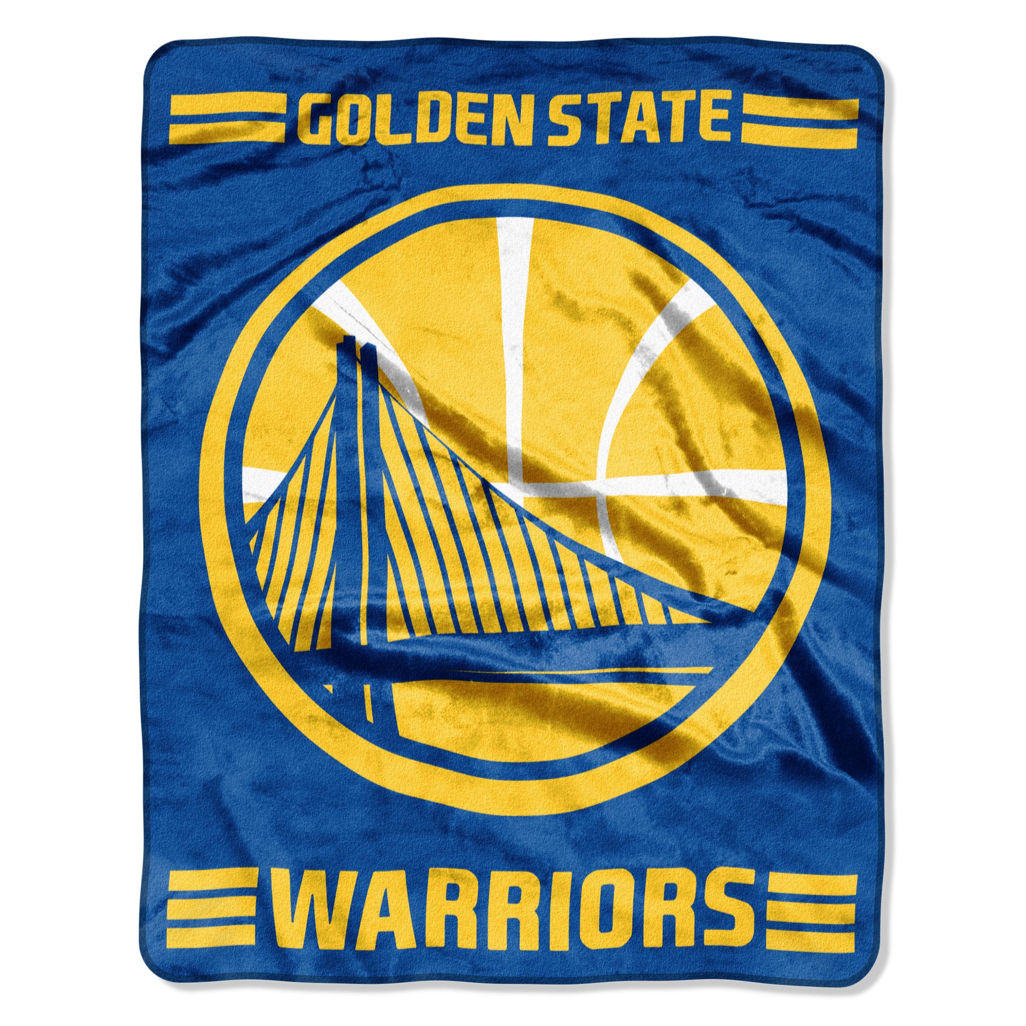 "Warriors ""Windmill"" - Silk Touch Throw Blanket, 55"" x 70"""