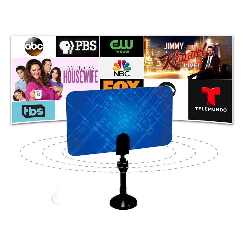 Indoor Television Antenna Box Ready HD UHF/VHF/FM Stereo For Satellite Signal HDPML