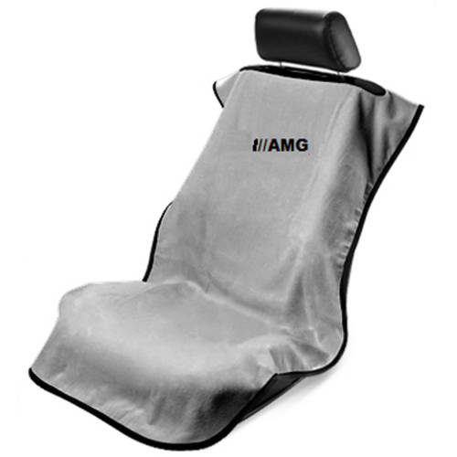 SeatArmour MB AMG Embroid. Grey Seat Armour