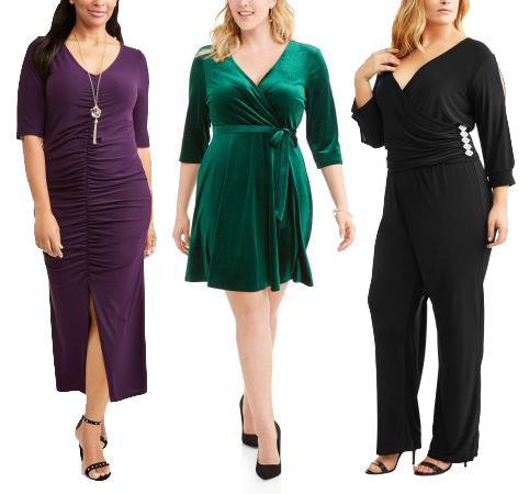 Shop the Collection!  Women's Plus Size Holiday Dress Shop