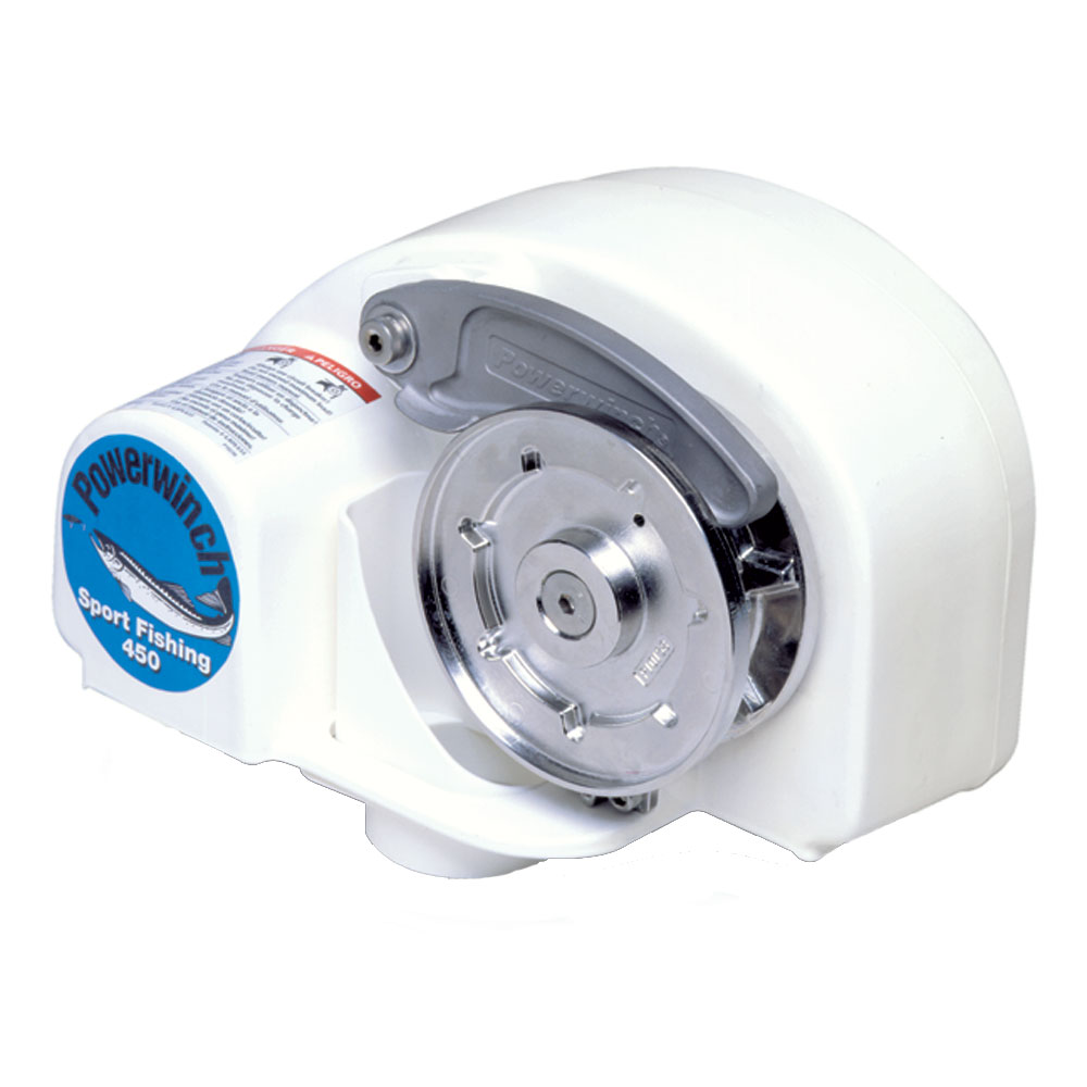 Powerwinch Sport Fishing 450 Automatic Helm Operated Free-Fall Windlass, 450 lb Pull by Carefree of Colorado