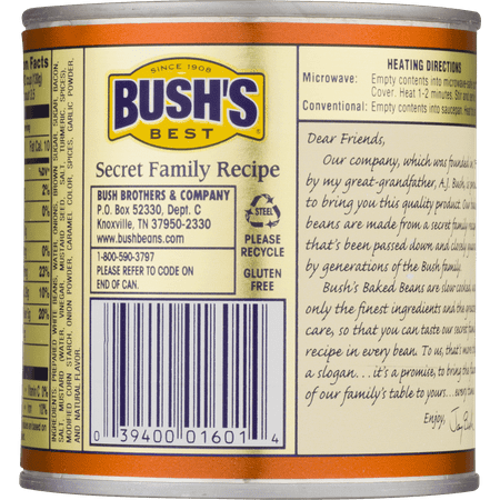Bush's Best Baked Beans Onion, ...