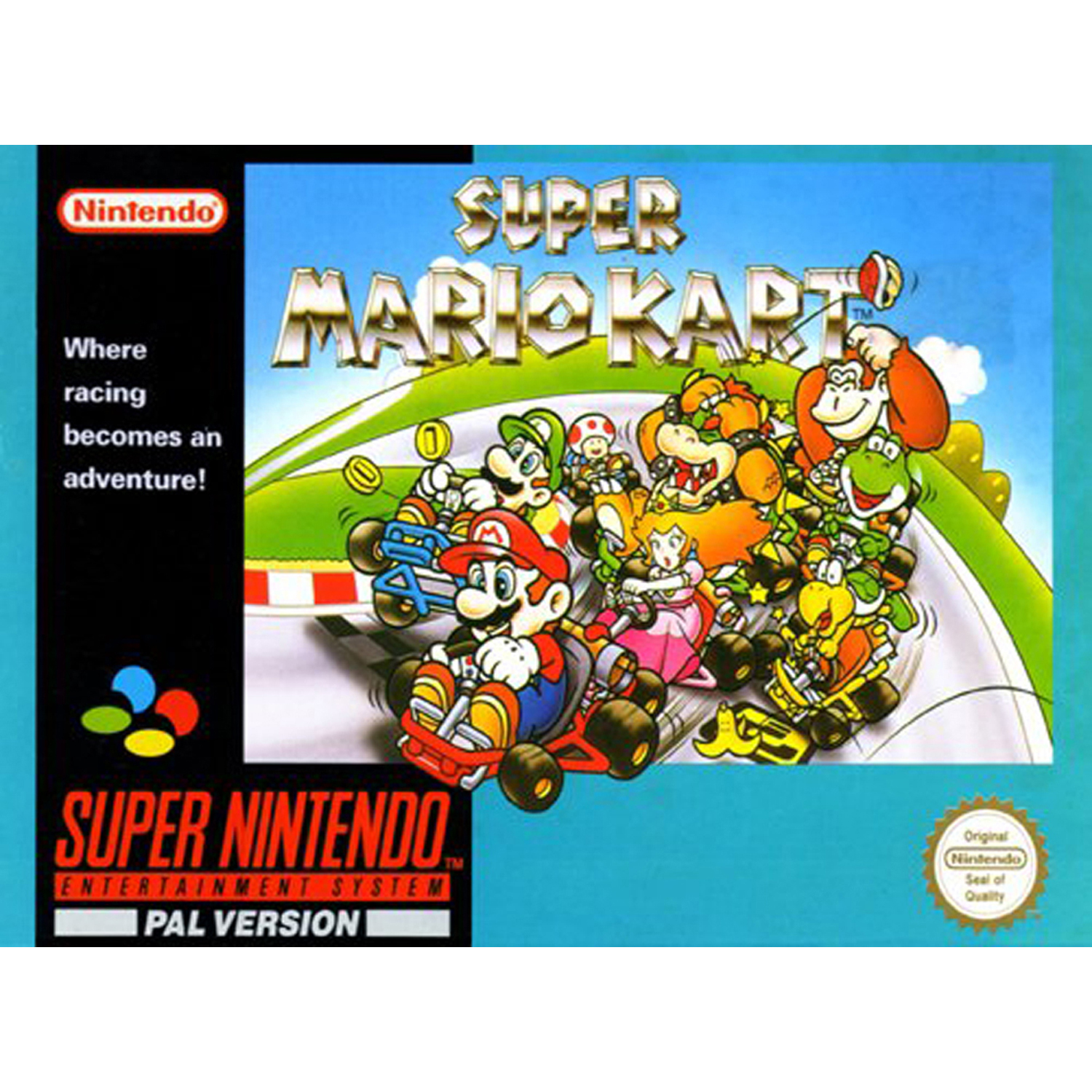 Super Mario Kart, Nintendo, WIIU, [Digital Download], 0004549666069
