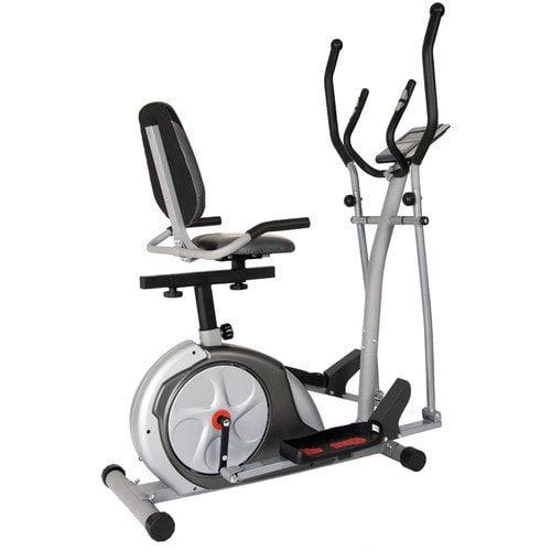 Body Rider 3-in-1 Trio Trainer - Elliptical/Recumbent Bike/Upright Bike