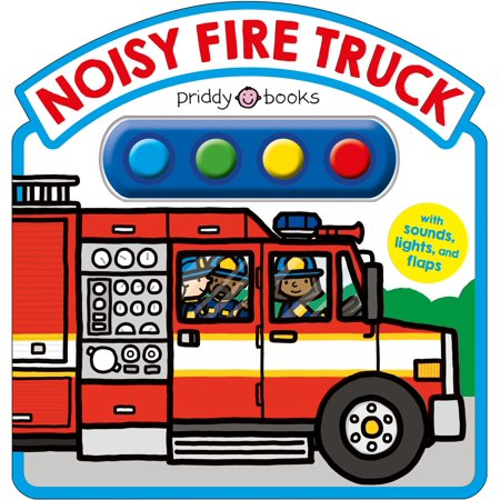Noisy Fire Truck Sound Book (Board Book) - Halloween Boo Sound Effect