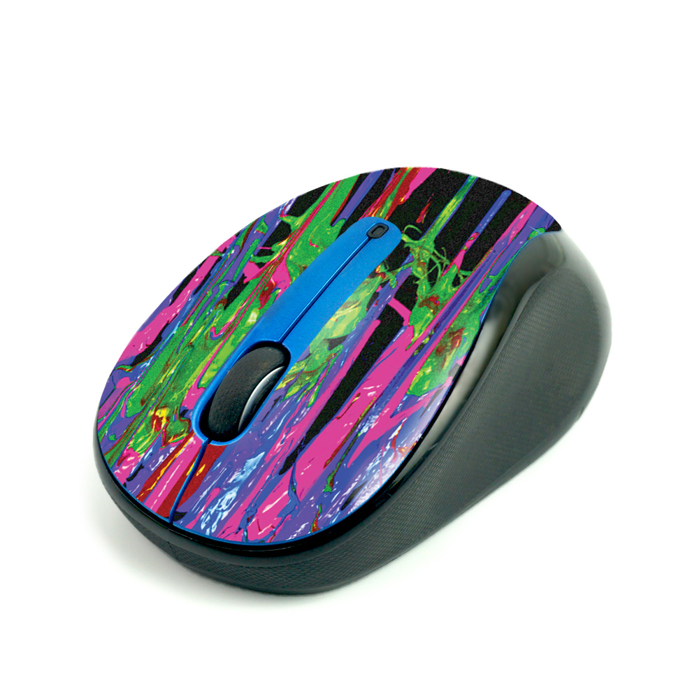 Mightyskins Colorful Skin For Logitech M325 Wireless Mouse | Protective, Durable, and Unique Vinyl Decal wrap cover | Easy to Apply, Remove, and Change Styles | Made in The USA