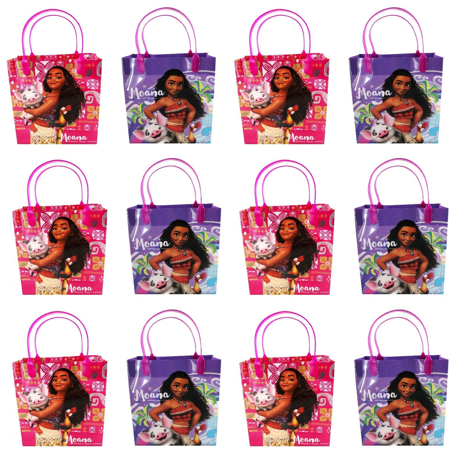12x Moana Goodie Gift Bags