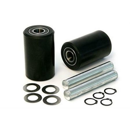 Jet GWK-JTPTX-LW PTX Load Wheel Kit for Manual Pallet Jack - Black ()