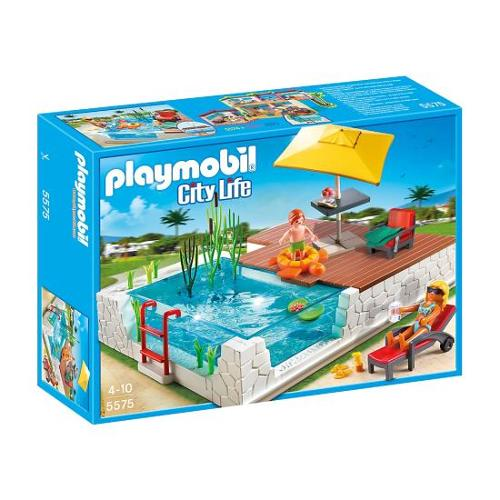 Playmobil Swimming Pool with Terrace