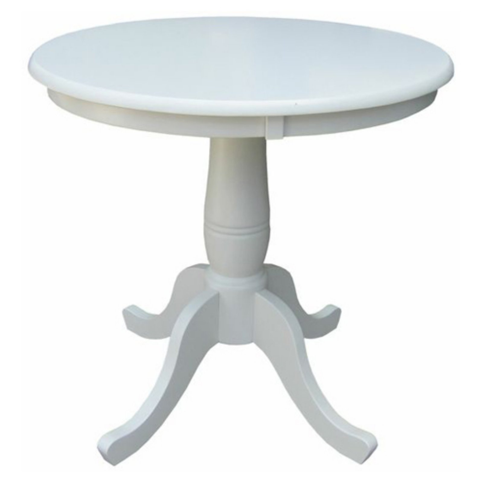 international concepts oakdale 30 in. round top pedestal dining