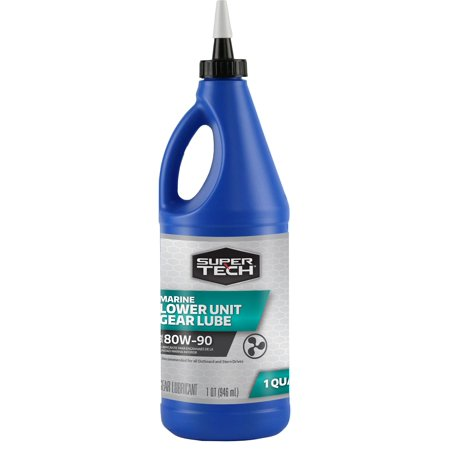 Super Tech Marine Gear Lube 80W-90, 1 (Auto Lube Bearing)