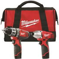 Milwaukee M12 Cordless Lithium-Ion 2-Tool Combo Kit