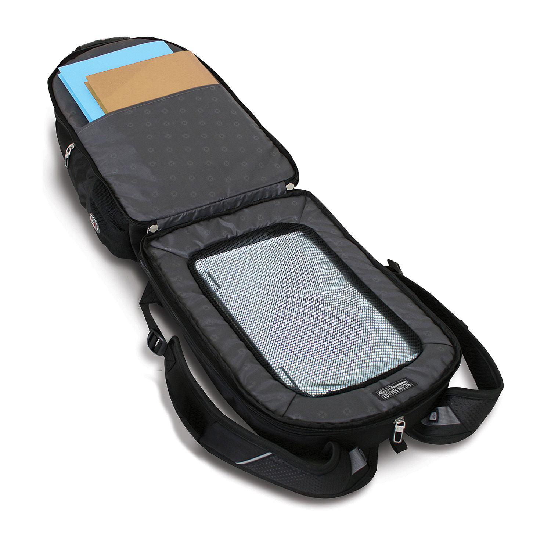 SwissGear ScanSmart Laptop Backpack - Black - Walmart.com
