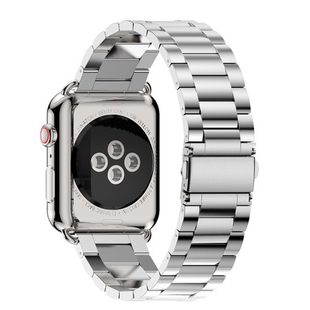Stainless Steel Watch Band Replacement Strap For Apple Watch Series 4 40mm