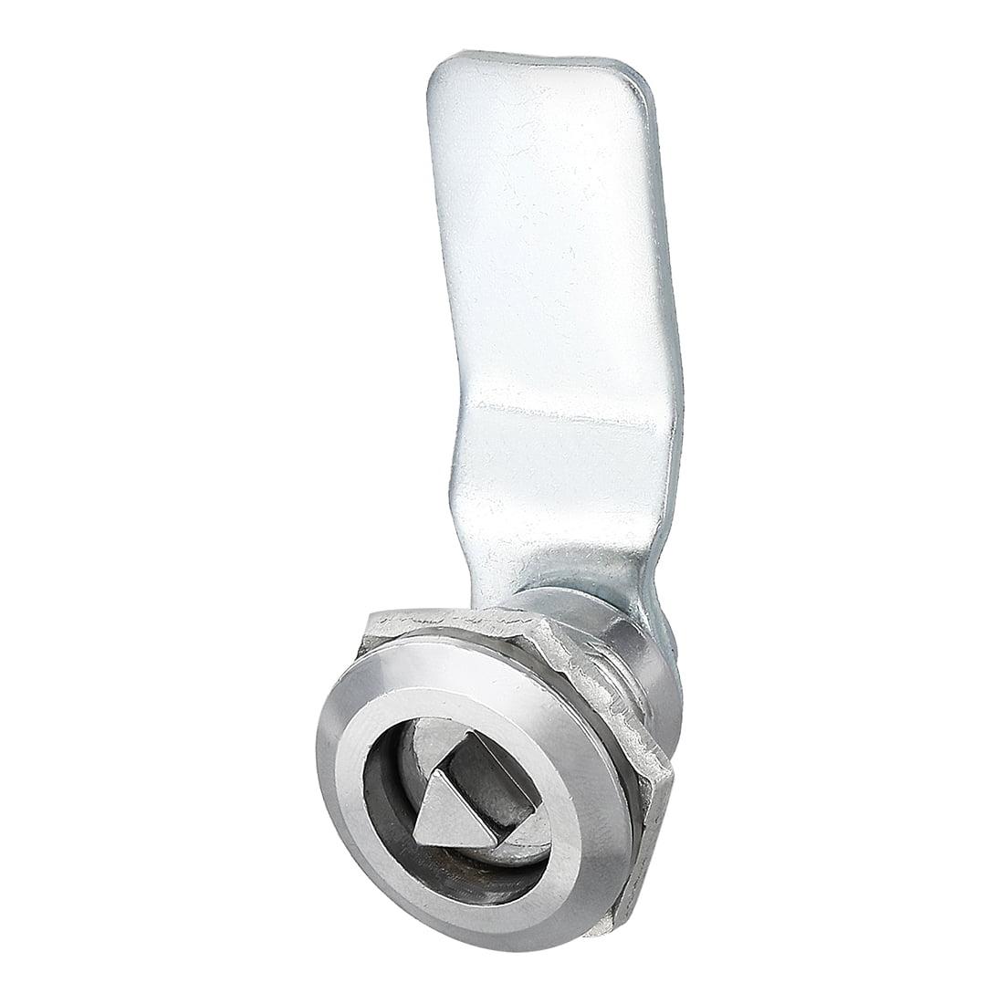 78mm Long 13mm Dia 9mmx2mm Trou Zinc Alliage Triangle /Électrique Cabinet Cl/é