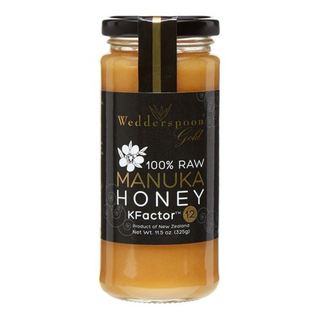 Wedderspoon Organics Organic Raw Manuka Honey 12+, 11.5 - Raw Manuka Honey
