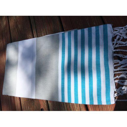 Highland Dunes Pestemal Turkish 100pct Cotton Beach Towel