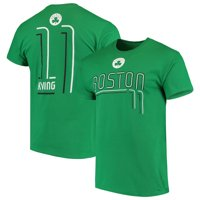 Men's Majestic Kyrie Irving Kelly Green Boston Celtics Spirited Competitor Name & Number T-Shirt
