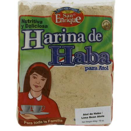 San Enrique Lima Bean Atole 16 oz - Atol de Haba (Pack of (Haba Bear)