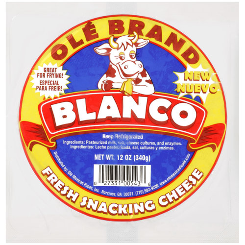 Ole Blanco Fresh Snacking Cheese, 12 oz